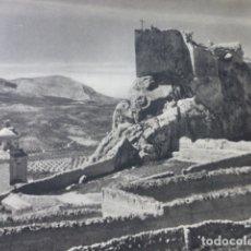 Collezionismo: BEDMAR JAEN CASTILLO ANTIGUA LAMINA HUECOGRABADO AÑOS 50. Lote 175257119