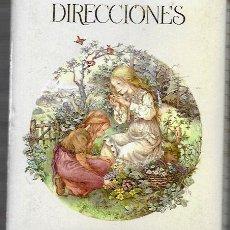 Coleccionismo: LIBRETA DE DIRECCIONES * LISI * BUSQUETS 1983 ( 18 X 14 ). Lote 175267390