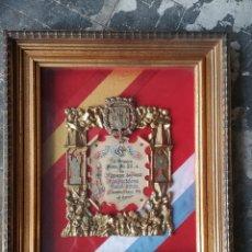 Coleccionismo: CUADRO RECONOCIMIENTO HOGERA PIO XII , ALICANTE 57X48CM. Lote 175443544