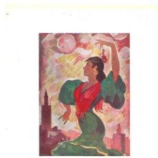 Coleccionismo: AÑO 1954 RECORTE PRENSA PUBLICIDAD FOTOGRAFIA CARTEL ANUNCIADOR FERIA DE SEVILLA 1954. Lote 175512980