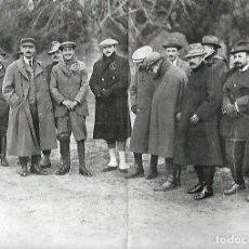 Coleccionismo: AÑO 1914 RECORTE PRENSA CAZA CACERIA REGIA DE RIOFRIO PRINCIPE LEOPOLDO REY ALFONSO XIII CARRUAJE . Lote 175621648