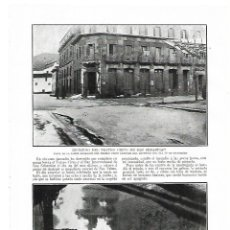 Coleccionismo: AÑO 1914 RECORTE PRENSA INCENDIO DEL TEATRO CIRCO DE SAN SEBASTIAN. Lote 175630782