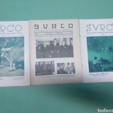 Coleccionismo: BOLETÍN SURCO Y SUPLEMENTO 1944, 1947. CÁMARAS AGRÍCOLAS ESPAÑA. Lote 175651708