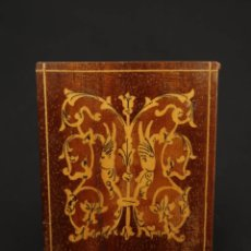 Coleccionismo: ANTIGUA PITILLERA DE MADERA FINALES SIGLO XIX. Lote 175695159