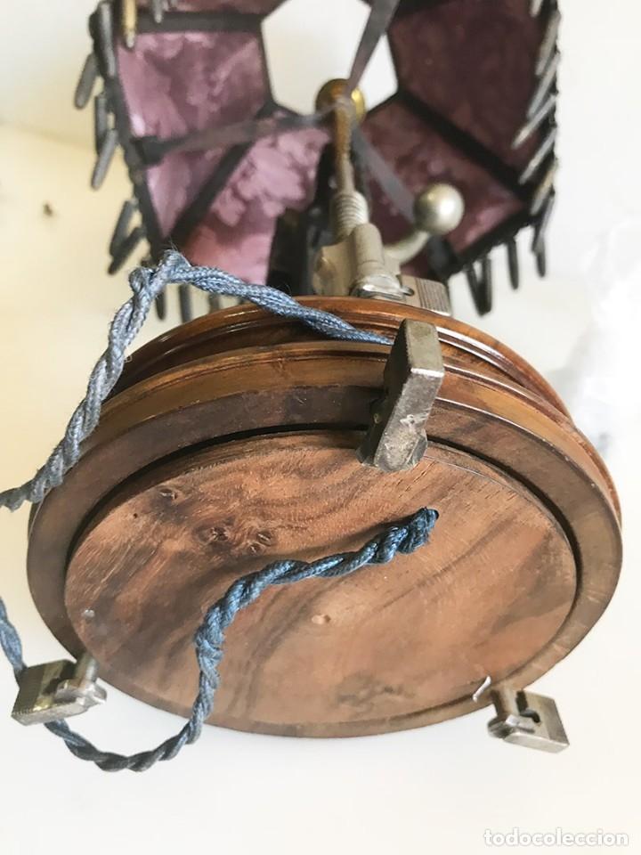 Coleccionismo: ORIGINAL LAMPARA DE SOBREMESA ARTESANAL COMPUESTA DE PIEZAS MAUSER - Foto 13 - 175733825