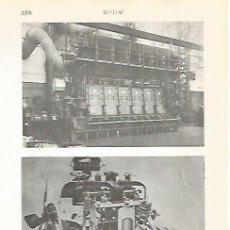 Coleccionismo: LAMINA VOX 16950: MOTOR DIESEL. Lote 175776532