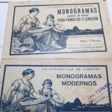 Coleccionismo: ALBUM DE LABORES -LA CANASTILLA DE LABORES- LOTE 2 NÚMEROS 24 Y 45. Lote 175879413