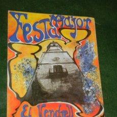 Coleccionismo: PROGRAMA FESTA MAJOR VENDRELL 1997. Lote 175915065