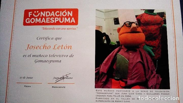 Coleccionismo: MARIONETA MUÑECO ORIGINAL - SERIE GOMAESPUMA- JOSECHU LETÓN TV MUPPETS - Foto 3 - 176090553