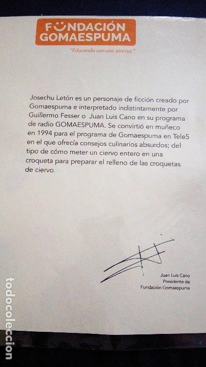 Coleccionismo: MARIONETA MUÑECO ORIGINAL - SERIE GOMAESPUMA- JOSECHU LETÓN TV MUPPETS - Foto 4 - 176090553