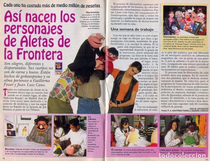 Coleccionismo: MARIONETA MUÑECO ORIGINAL - SERIE GOMAESPUMA- JOSECHU LETÓN TV MUPPETS - Foto 5 - 176090553