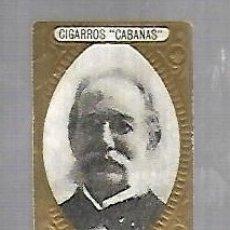 Coleccionismo: ANTIGUO CROMO. CIGARROS CABAÑAS. CUBANOS ILUSTRES. PATRIOTA. CARLOS FINLAY. Lote 176319403