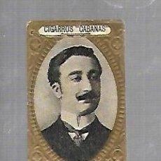 Coleccionismo: ANTIGUO CROMO. CIGARROS CABAÑAS. CUBANOS ILUSTRES. PATRIOTA. ORESTES FERRARA. Lote 176319442
