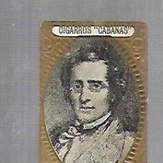 Coleccionismo: ANTIGUO CROMO. CIGARROS CABAÑAS. CUBANOS ILUSTRES. PATRIOTA. PADRE VARELA. Lote 176319605