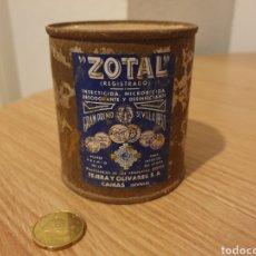 Coleccionismo: BOTE O LATA ZOTAL.. Lote 176522157