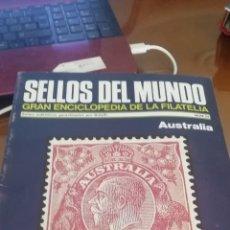 Coleccionismo: SELLOS DEL MUNDO. GRAN ENCICLOPEDIA FILATELIA. AUSTRALIA. Lote 176639554