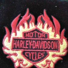 Coleccionismo: PARCHE TELA BORDADO HARLEY DAVIDSON CYCLES. Lote 177642213