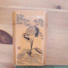 Coleccionismo: ANTIGUA PETACA TABAQUERA CHINA. Lote 177728817