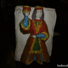 Coleccionismo: FIGURA PASTA CARTÓN PAPEL MACHÉ, BARAJA REY DE COPAS.. Lote 177739959