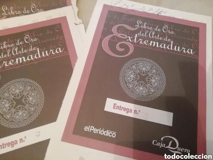Coleccionismo: Historia arte en Extremadura. Láminas pegadas. - Foto 3 - 177757834