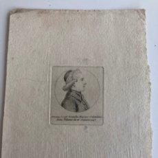 Coleccionismo: SELGAS JOSÉ. LA EUCARISTÍA. POEMA, RECIBO IMPRENTA Y RETRATO GRABADO DE CAVANILLES 1743. Lote 177856190