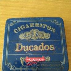 Coleccionismo: CAJITA METÁLICA DE CIGARRITOS DUCADOS. Lote 178177820