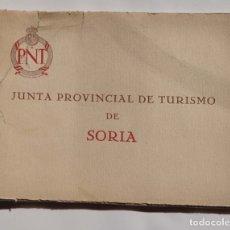 Coleccionismo: SORIA.-COMPLETA 10 LAMINAS DE LA ED. HUECOGRABADO MUMBRÚ, P.N.T. JUNTA PROVINCIAL DE TURISMO.. Lote 178271450