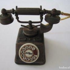 Coleccionismo: PLAYME COLECCIÓN - LOTE 2 MINIATURAS - TELÉFONO ANTIGUO Y CAÑÓN DE ASEDIO. Lote 178290987