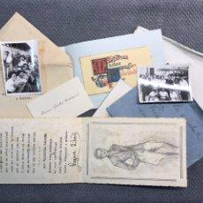 Coleccionismo: VALENCIA. TEATRO. BURJASSOT A VICENTITA PALANCA, INSIGNE ACTRIZ VALENCIANA (H.1945-50?). Lote 178303945