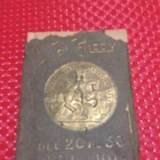 Coleccionismo: ALCOY - PROGRAMA OFICIAL DE FIESTAS ABRIL 1913 - LIBRITO CON 100 PÁGINAS. Lote 178309585