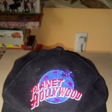 Coleccionismo: GORRA PLANET HOLLYWOOD DE DISNEYLAND PARÍS.. Lote 178320907