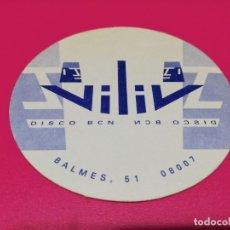 Coleccionismo: POSAVASO DISCO VILIV. Lote 178322180