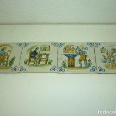 Coleccionismo: BALDOSAS CERAMICAS DE OFICIOS (4). Lote 178345188