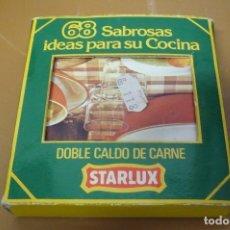 Coleccionismo: 68 SABROSAS IDEAS PARA SU COCINA DE STARLUX. Lote 178350060