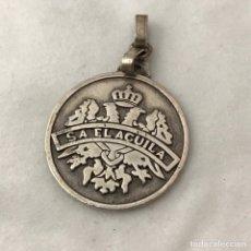 Coleccionismo: MEDALLA SA EL ÁGUILA DE PLATA 925. Lote 178639810