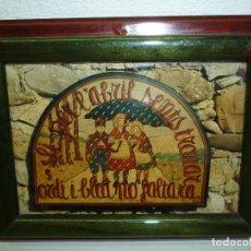 Coleccionismo: CUADRO REFRAN ALUSIVO AL CAMPO. Lote 178974728