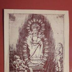 Coleccionismo: CONVOCATORIA (SEPT 1966), SOLEMNE TRIDUO NUESTRA SEÑORA DE LA HINIESTA, PATRONA DE SEVILLA.. Lote 178988408