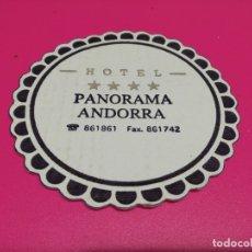 Coleccionismo: POSAVASO HOTEL PANORAMA . Lote 179056931