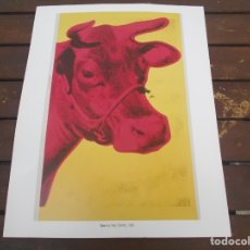 Coleccionismo: COW-- ANDY WARHOL. Lote 179083817