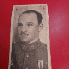 Collezionismo: FOTO RECORTE PERIÓDICO GENERAL MANUEL GODED DIRECTOR AERONÁUTICA. Lote 179140752