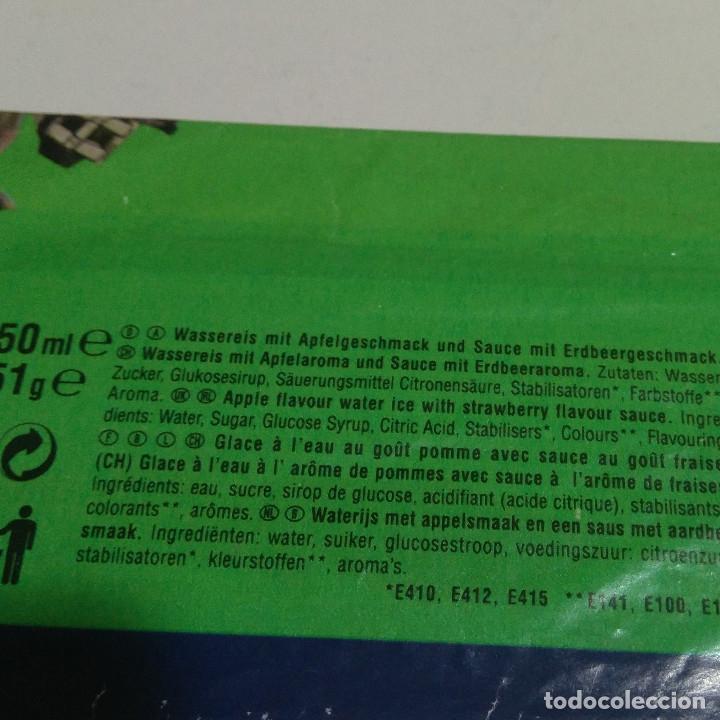 Coleccionismo: envoltorio frigo la amenaza fantasma phantom menace helado promocional publicidad episodio 1 helados - Foto 3 - 179163591