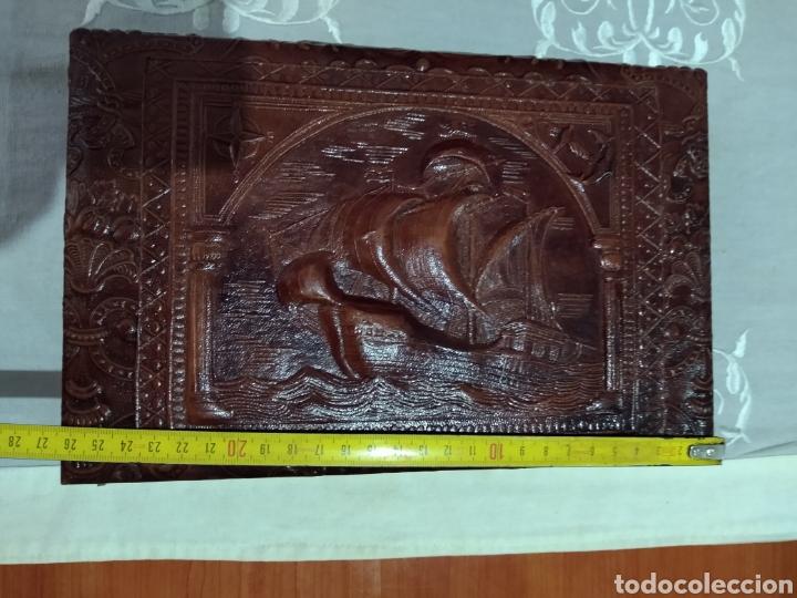 Coleccionismo: ANTIGUA ( CAJA DE PUROS EN MADERA Y CUERO REPUJADO ). MÁS ARTÍCULOS ANTIGUOS MI PERFIL - Foto 16 - 179174473