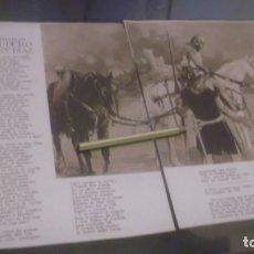 Coleccionismo: RECORTE AÑOS 40/50 - LOS OLVIDADOS EL ESCUDERO DE RUY DIAZ ( ELCID) POR M.R.BLANCO-BELMONTE. Lote 179326832