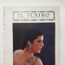Coleccionismo: ARTISTAS ESPAÑOLAS. ARGENTINITA. ENCARNACIÓN LÓPEZ. 1927. Lote 179340323