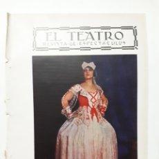 Coleccionismo: ARTISTAS ESPAÑOLAS. PAQUITA ALCARÁZ. 1927. Lote 179340521