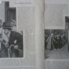 Coleccionismo: LA DESTRUCTORITA, Nº11 CONCURSO DE CUENTOS FANTÁSTICOS BLANCO Y NEGRO. DIBUJOS DE MÉNDEZ BRINGA.. Lote 179386342