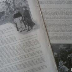 Coleccionismo: LA ZARABANDA, JOSÉ NOGALES/ MI LANCHA, RICARDO S. CATIRINEU.. Lote 179387775