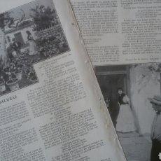 Coleccionismo: FLORES ANDALUZAS POR S. Y J. ÁLVAREZ QUINTERO / LAS OBSCURAS GOLONDRINAS POR ENE. Lote 179389256