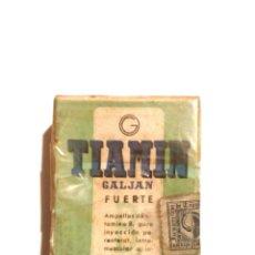 Coleccionismo: ANTIGUA CAJA DE MEDICAMENTO TIAMIN. Lote 179546692