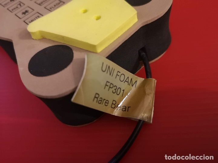 Coleccionismo: Original Telefono fijo de forma de oso osito hecho en goma eva. Funcionando perfectamente - Foto 7 - 179952845